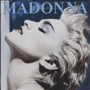 Madonna True Blue UK vinyl LP