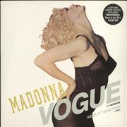 Click here for more info about 'Madonna - Vogue + Face Of The 80s Poster'