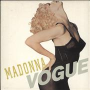 Click here for more info about 'Madonna - Vogue - Injection Label & Glossy Card Sleeve'