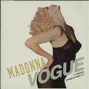 Click here for more info about 'Madonna - Vogue + X Rated Poster'