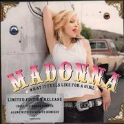 Click here for more info about 'Madonna - What It Feels Like For A Girl - CD 1 + Poster'