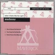Click here for more info about 'Madonna - What It Feels Like For A Girl - 3-track'