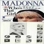 Click here for more info about 'Madonna - Who's That Girl + portrait'