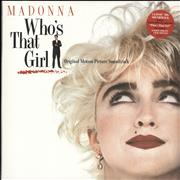 Click here for more info about 'Madonna - Who's That Girl - 140gram Vinyl - Sealed'
