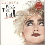 Click here for more info about 'Madonna - Who's That Girl - 140gram Vinyl'