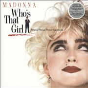 Click here for more info about 'Madonna - Who's That Girl - 180gm Clear Vinyl - Sealed'