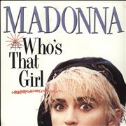 Click here for more info about 'Who's That Girl - Glossy Sleeve'