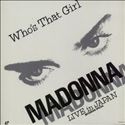 Click here for more info about 'Madonna - Who's That Girl - Live In Japan + Booklet'