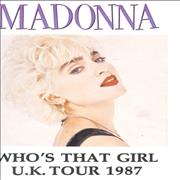 Click here for more info about 'Madonna - Who's That Girl - UK Tour 1987'