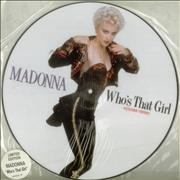 Click here for more info about 'Madonna - Who's That Girl - Stickered sleeve'