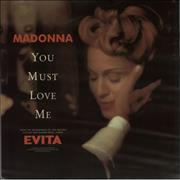 Click here for more info about 'Madonna - You Must Love Me'