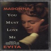 Click here for more info about 'Madonna - You Must Love Me - Clear'