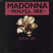 Madonna You'll See - Sealed! Germany CD single