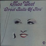 Click here for more info about 'Mae West - Great Balls Of Fire'
