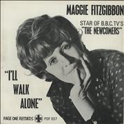 Click here for more info about 'Maggie Fitzgibbon - I'll Walk Alone + Sleeve'