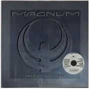 """Magnum 3 Coloured Vinyl Singles UK 12"""" vinyl"""