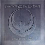"""Magnum Days Of No Trust UK 7"""" vinyl"""