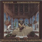 Magnum Kingdom Of Madness USA vinyl LP Promo
