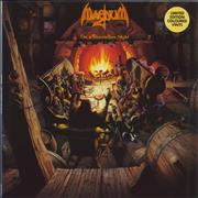 Magnum On A Storyteller's Night - Gold Coloured Vinyl UK vinyl LP