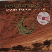 Click here for more info about 'Magnum - Start Talking Love - Red Vinyl'