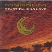 Magnum Start Talking Love UK CD single