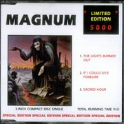 Click here for more info about 'Magnum - The Lights Burned Out'