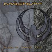 Magnum Wings Of Heaven + Ticket Stubs UK tour programme