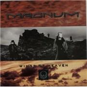 Magnum Wings Of Heaven UK vinyl LP
