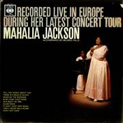 Click here for more info about 'Mahalia Jackson - Recorded Live In Europe During Her Latest Concert Tour- Test'