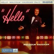 Click here for more info about 'Malcolm Vaughan - Hello Malcolm Vaughan (No.1) EP'