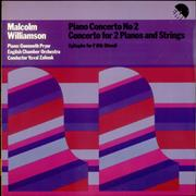 Click here for more info about 'Malcolm Williamson - Piano Concerto No. 2 / Concerto For 2 Pianos and Strings'