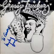 Click here for more info about 'Greasy Truckers Party - Autographed'