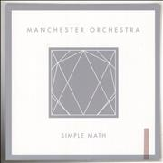 Click here for more info about 'Manchester Orchestra - Simple Math - Clear and Pink vinyl'