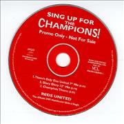 Click here for more info about 'Manchester United FC - Sing Up For The Champions!'
