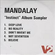 Click here for more info about 'Mandalay - Instinct Album Sampler'