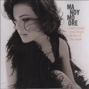 Mandy Moore I Could Break Your Heart Any Day Of The Week Usa Cd Single Promo