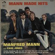 Click here for more info about 'Manfred Mann - Mann Made Hits - VG'