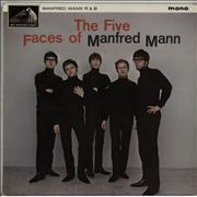 Click here for more info about 'Manfred Mann - The Five Faces Of Manfred Mann - 1st - EX'