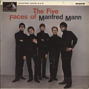Click here for more info about 'Manfred Mann - The Five Faces Of Manfred Mann - 1st - VG'