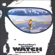 Click here for more info about 'Manfred Mann - Watch - European & UK Tour 78'