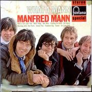 Click here for more info about 'Manfred Mann - What A Mann - 2nd'