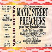 Click here for more info about 'Manic Street Preachers - 1994 - Unused Concert Ticket'