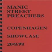 Click here for more info about 'Manic Street Preachers - Copenhagen Showcase - Tour Itinerary'