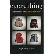 Manic Street Preachers Everything UK book