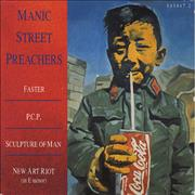 Click here for more info about 'Manic Street Preachers - Faster'