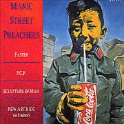 Click here for more info about 'Manic Street Preachers - Faster/PCP - Digipak'