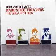 Manic Street Preachers Forever Delayed - The Greatest Hits UK CD album
