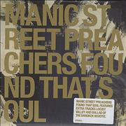 Manic Street Preachers Found That Soul UK CD single