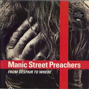 Click here for more info about 'Manic Street Preachers - From Despair To Where - EX'