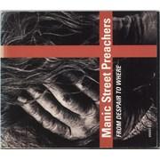Manic Street Preachers From Despair To Where - EX UK CD single